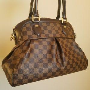🌟Louis Vuitton Damier Trevi PM Handbag